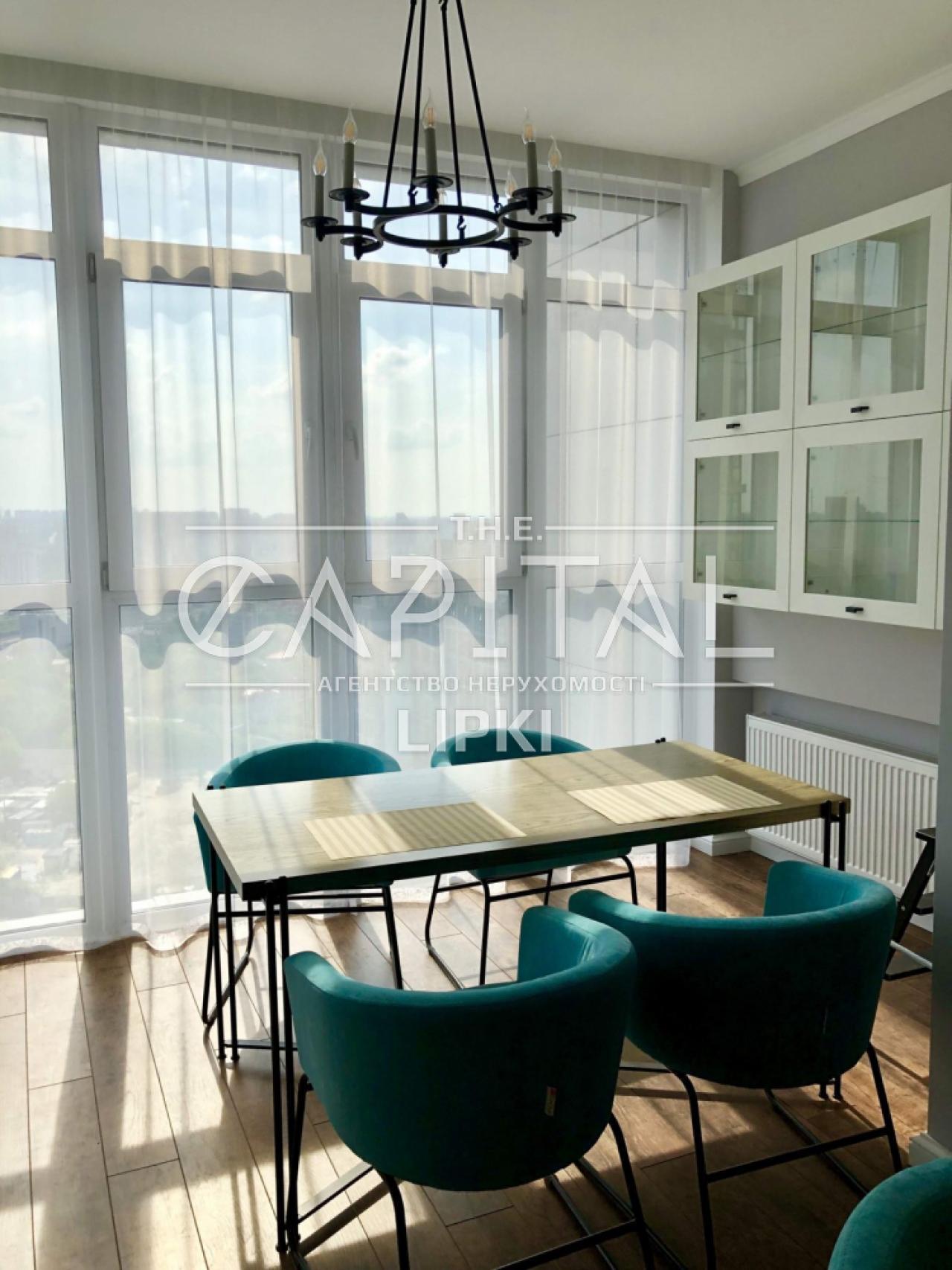 Аренда 3 комн. квартиры Михаила Драгомирова 11 за 1500 USD